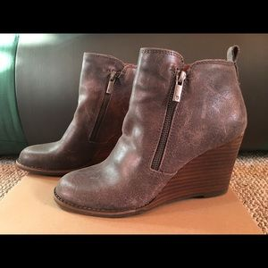 Lucky Brand Wedge Bootie size 6.5